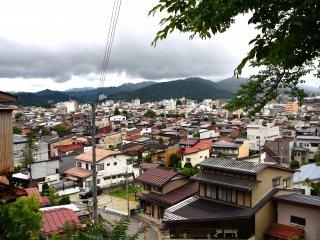 Takayama from the Higashiyama Walking Course