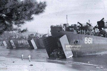Sept. 4th, 1945 U.S. Marines Landing