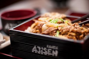 Ajisen ramen covers the whole spectrum of Japanese fast food from Rice to Noodles and Tempura