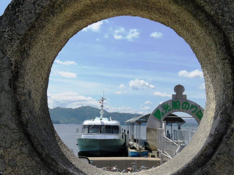 The journey to this secret shrine starts with a boat ride from Amanohashidate