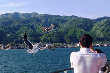 Be free as a bird in the skies above Northern Kyoto Prefecture