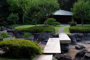 The Garden Oriental Osaka's traditional Japanese garden