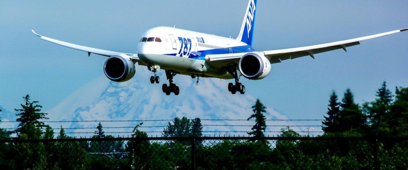 Tận hưởng sự thoải mái khi bay với Boeing 787 Dreamliner của ANA