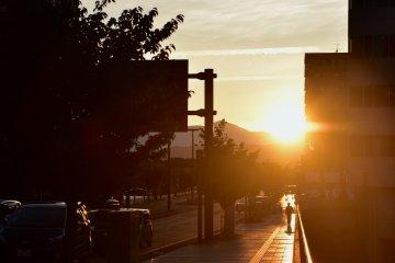 Đón mặt trời ở Morioka