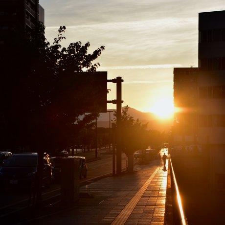 Catching the Sun in Morioka