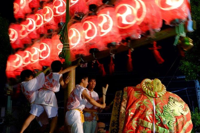 Festival Daigaku au Sanctuaire Ikune