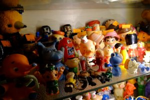 Vintage toys seemed the most common fare