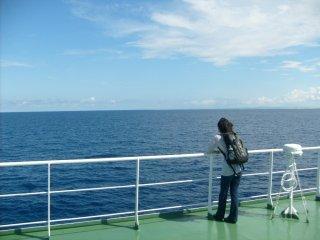 On profite de l'air de l'océan