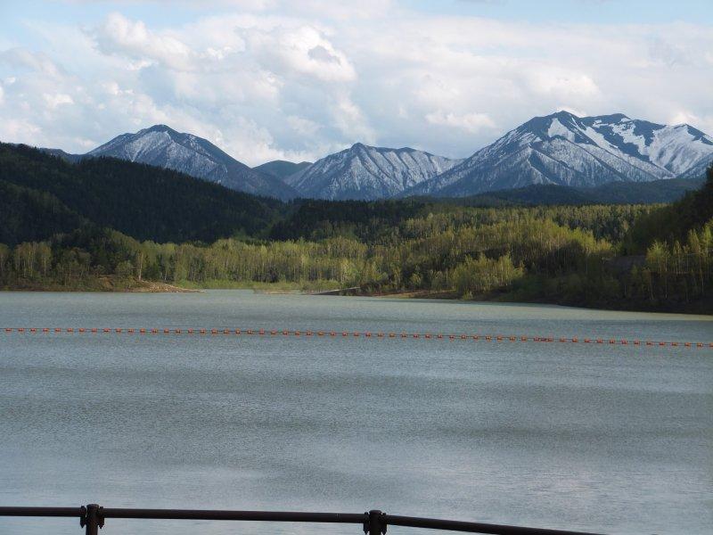 Mountain view from Lake Taisetsu