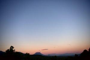 Sunset behind Yotei-san