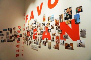照片牆-蒐集來自各地和各式各樣的史努比。