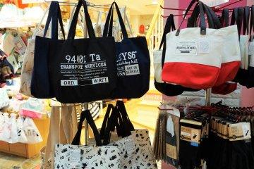 小包包也有很多種類可以選擇。