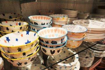 可愛的碗盤