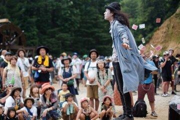 Fuji Rock Street performer