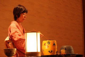 Chado, la ceremonia del té.