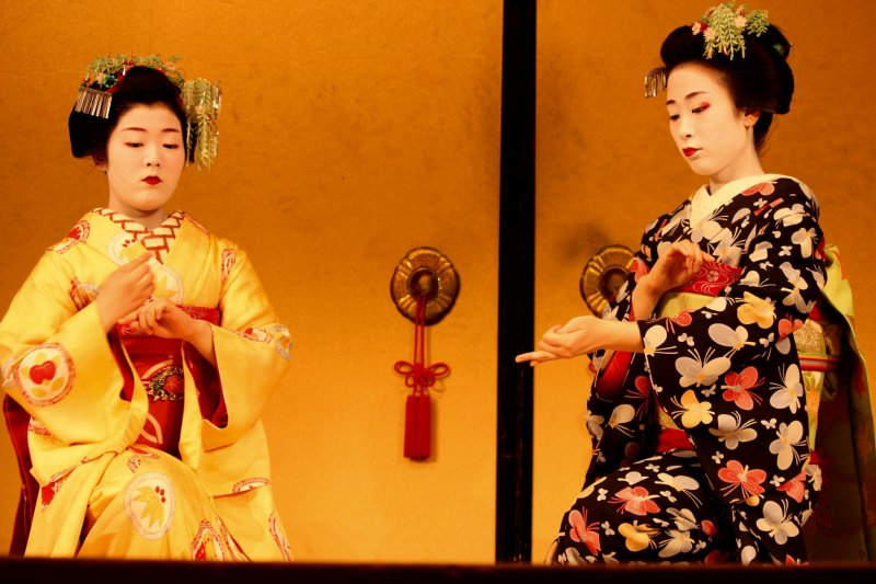 Kyomai, un baile con el estilo de Kyoto
