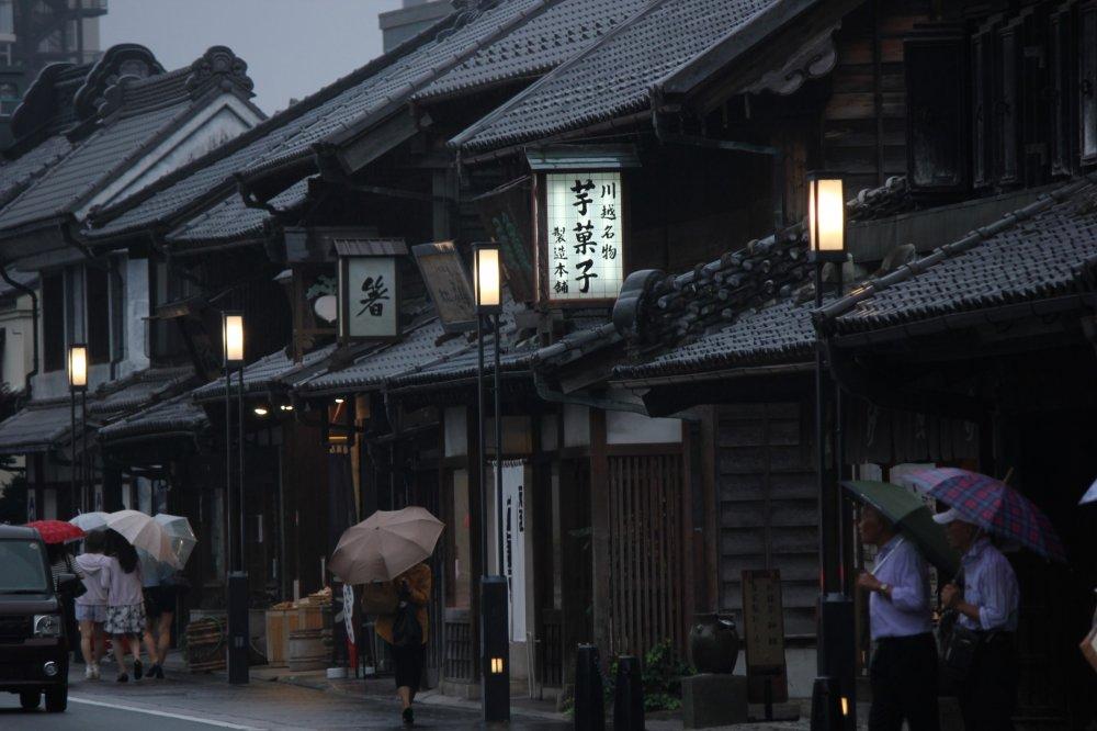 Antiguos locales en la calle Kurazukuri