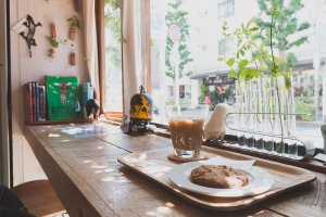 Curious and quirky cafe in Shimokitazawa