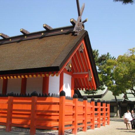 Sumiyoshi Taisha of Osaka