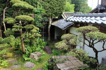 Small garden residence