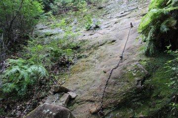 The path up Mt Ise-sanjou