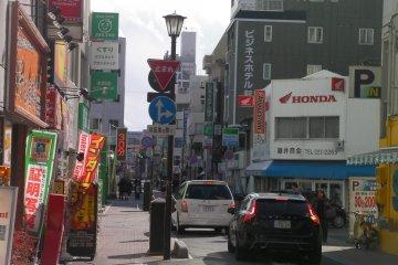 Second street in Ekimae