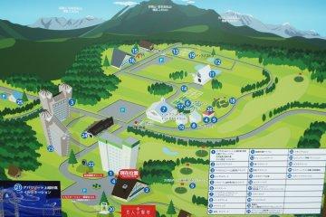 Map of Resort Area