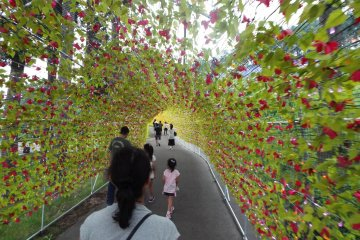 The gate of Happiness Tunnel