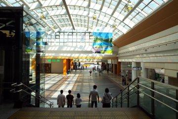 Inside Nagano Station