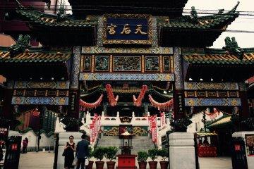 Entrada del templo Mazu Miao.