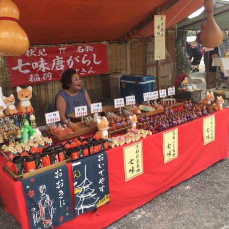 Toji Temple Market