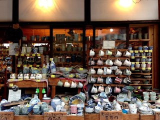 Store selling ceramics