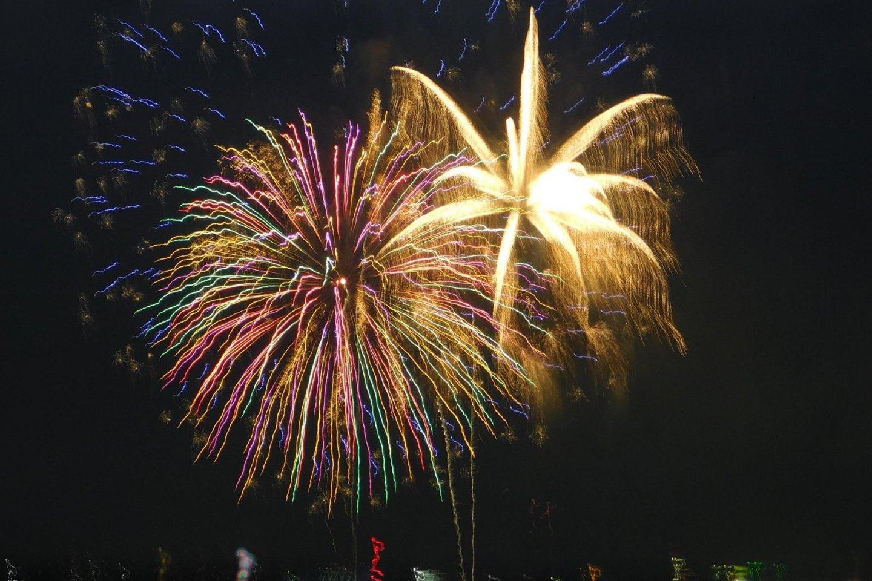 Lễ hội pháo hoa ở Okazaki!