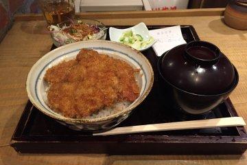 Delicious Tonkatsu in Kichijoji