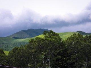 Núi Tateshina