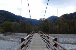 Kappa Bridge - Starting point for the hike