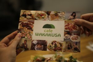 Cafe Wakakusa in Nara, where we made many Couchsurfing memories