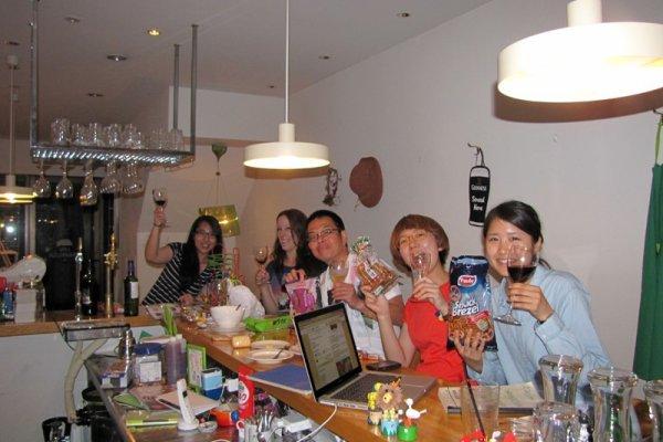 Những người bạn Couchsurfing ở Nara
