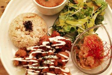 Set Meal at Natural Bar Paprika Vegan Dining