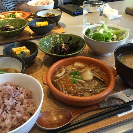 Makanan Ramah Vegan Organik di Osaka
