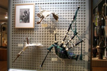 Bagpipes from Scotland