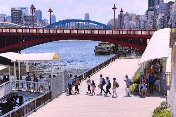 Sumida River and Asakusa Cruises