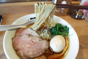 Kiage Shoyu Ramen noodles