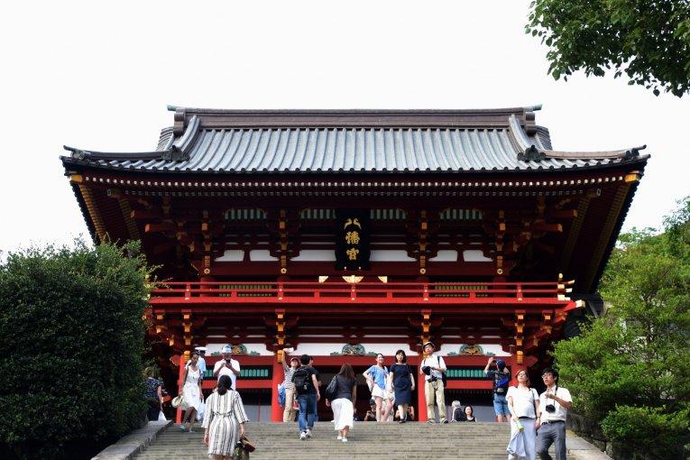 Kuil Hachimangu, Pusat Kamakura