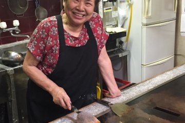 Obachan (store-owner)