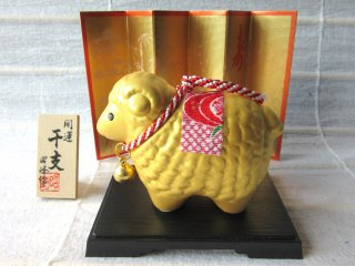 The Animal Calendar is very popular in Japan. There are 12 animals in it and every year I pick its symbol. Hitsuji (a sheep) year was 2015.