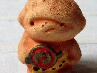 One more tiny creature from Gora - goblin made of clay is only 4 cm tall