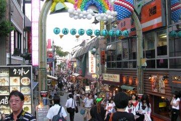 Забавная улица Такэсита