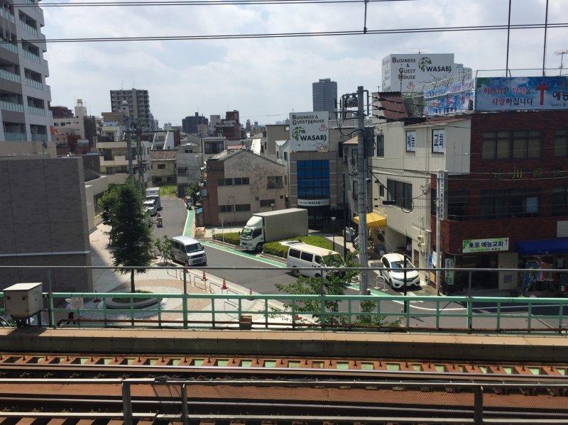 View from the Train Station