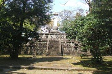 <p>Tomb of Lord Maeda</p>